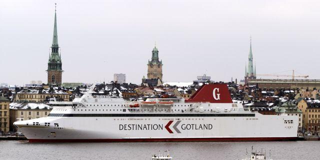 Destination Gotland Gunnar Lundmark / SvD / TT / TT NYHETSBYRÅN