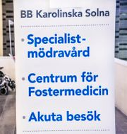 Karolinska sjukhuset i Solna. Tomas Oneborg/SvD/TT / TT NYHETSBYRÅN