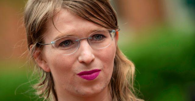 Chelsea Manning. ERIC BARADAT / TT NYHETSBYRÅN