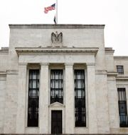 Arkivbild: Federal Reserves byggnad i Washington.  Patrick Semansky / TT NYHETSBYRÅN