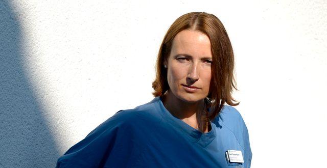 Heidi Stensmyren, läkare och ny ordförande för Sveriges Läkarförbund. JANERIK HENRIKSSON / TT / TT NYHETSBYRÅN