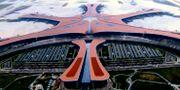 Peking Daxing internationella flygplats. TT NYHETSBYRÅN