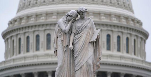Kapitolium i Washington.  Susan Walsh / TT NYHETSBYRÅN