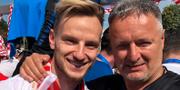 """Ivan Rakitic med Marko """"Thompson"""" Perkovic Ivan Rakitic instagramkonto"""