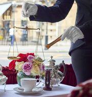 För 6 200 kronor får du dricka rekorddyrt te med utsikt över Buckingham Palace. Rubens Hotel