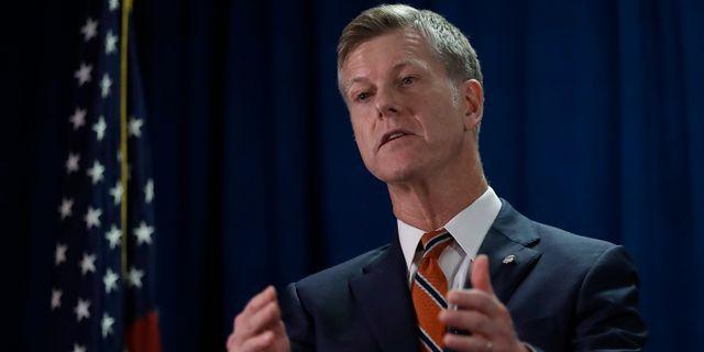 Amerikanska federala åklagaren David L Anderson. Ben Margot / TT NYHETSBYRÅN