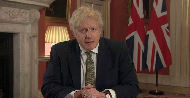 Boris Johnson. TT NYHETSBYRÅN