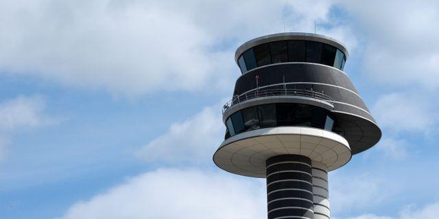 Flygledningstornet på Arlanda flygplats. Arkivbild. Johan Nilsson / TT / TT NYHETSBYRÅN
