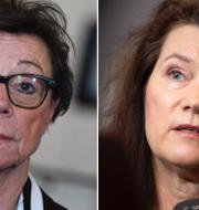 Annika Söder, Ann Linde.  TT