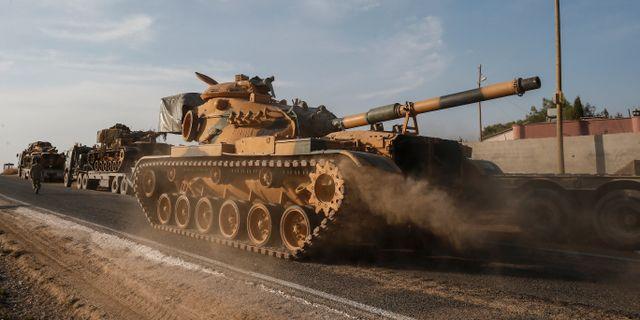 Turkiska armén i Syrien. Emrah Gurel / TT NYHETSBYRÅN