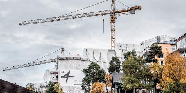 Illustrationsbild: Bygge i Nacka Strand. Tomas Oneborg/SvD/TT / TT NYHETSBYRÅN