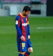 Messi. Joan Monfort / TT NYHETSBYRÅN