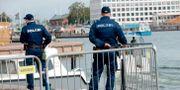 Poliser i Helsingfors. Arkivbild. Mikko Stig / TT NYHETSBYRÅN
