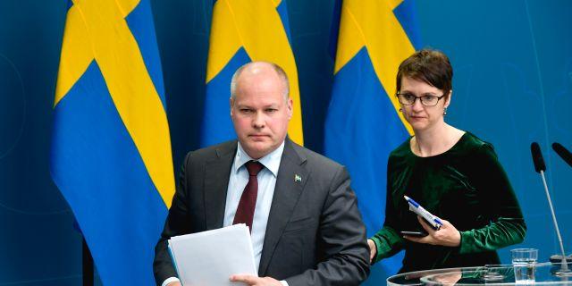 Morgan Johansson.  Anders Wiklund/TT / TT NYHETSBYRÅN
