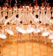 Balettdansare på  Ronald Zak / TT NYHETSBYRÅN