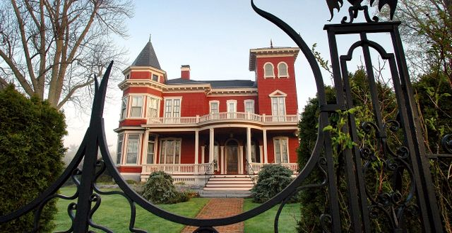 Stephen Kings hus i Bangor, Maine. Robert F. Bukaty / TT NYHETSBYRÅN