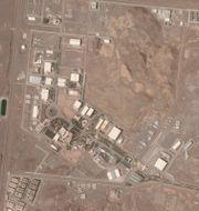 Satellitbild över anläggningen i Natanz. Planet Labs Inc. / TT NYHETSBYRÅN