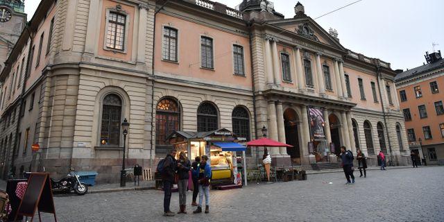 Börshuset i Gamla stan i Stockholm där Svenska Akademien håller till. Arkivbild.  Henrik Montgomery/TT / TT NYHETSBYRÅN