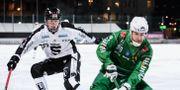 Hammarbys Ivan Lebedev under matchen mot Sandviken.  Erik Simander/TT / TT NYHETSBYRÅN