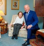 Jill Biden, Jimmy Carter, Rosalynn Carter och Joe Biden Adam Schultz / TT NYHETSBYRÅN