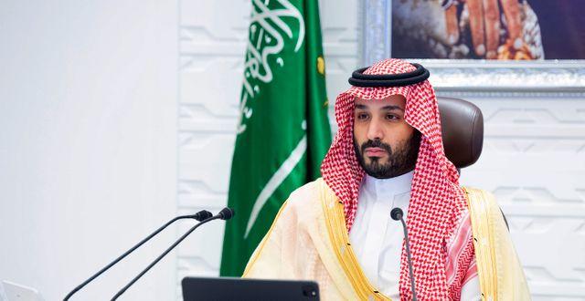 Mohammed bin Salman/Arkivbild Bandar Aljaloud / TT NYHETSBYRÅN