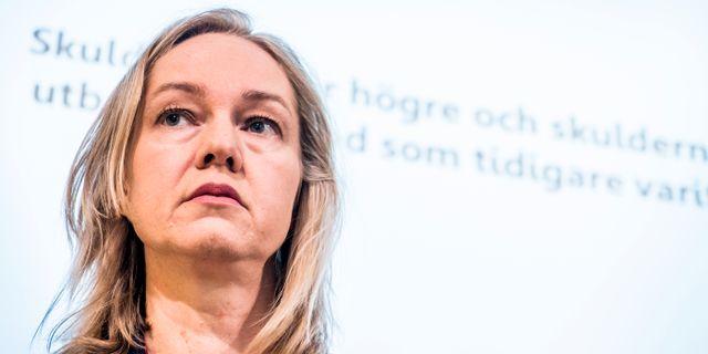 Cecilia Skingsley, vice riksbankschef.  Magnus Hjalmarson Neideman / SvD / TT / TT NYHETSBYRÅN