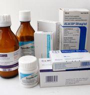 Antibiotika. Gorm Kallestad / TT NYHETSBYRÅN