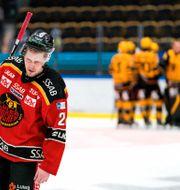 Bild från matchen.  OLA WESTERBERG / BILDBYRÅN