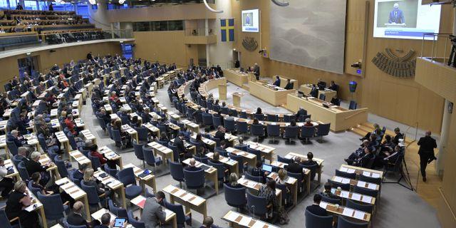 Riksdagen Janerik Henriksson/TT / TT NYHETSBYRÅN