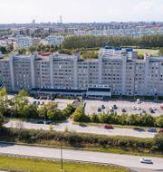 """Miljonprogramshusen """"Kinesiska muren"""" på Rosengård i Malmö. Johan Nilsson/TT / TT NYHETSBYRÅN"""