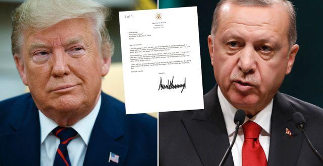 Donald Trump/Recep Tayyip Erdogan. TT