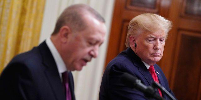 Donald Trump och Erdogan. MANDEL NGAN / AFP