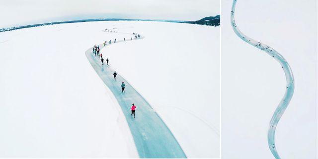 I mars 2020 anordnar Norge sitt nästa maraton på is. icebugx.com