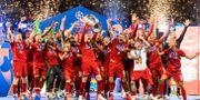 Liverpool firar efter fjolårets final. PETTER ARVIDSON / BILDBYRÅN