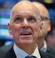 Veoneer-chefen Jan Carlson vid noteringen i New York i juli 2018. BRENDAN MCDERMID / TT NYHETSBYRÅN