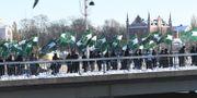 Nordiska motståndsrörelsen demonstrerar i Stockholm i november. Fredrik Sandberg/TT / TT NYHETSBYRÅN