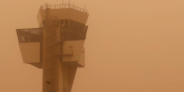 Flygtornet på flygplatsen i Gran Canaria BORJA SUAREZ / TT NYHETSBYRÅN