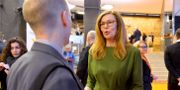 Swedbanks vd Birgitte Bonnesen.  Marcus Ericsson/TT / TT NYHETSBYRÅN