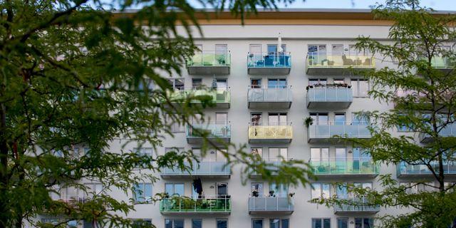 Lägenheter i Liljeholmen. JESSICA GOW / TT / TT NYHETSBYRÅN