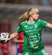 Piteås målvakt Guro Pettersen. PETTER ARVIDSON / BILDBYRÅN