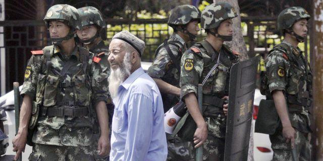 Uigur i Kina. TT NYHETSBYRÅN