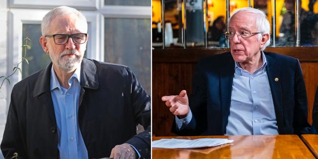 Jeremy Corbyn/Bernie Sanders TT