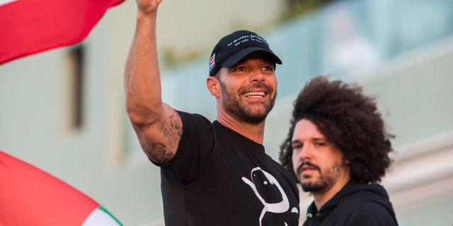 Ricky Martin Dennis M. Rivera Pichardo / TT NYHETSBYRÅN