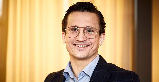Andreas Wahlén, vd NP3 Fastigheter.  Pressbild