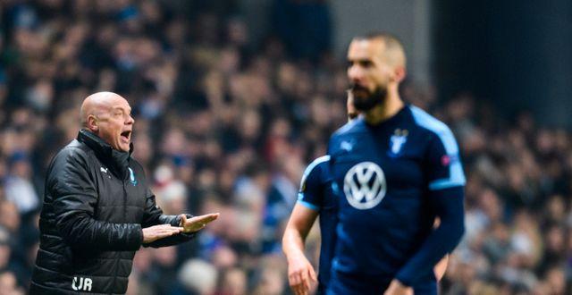 Uwe Rösler under gårdagens match mot FCK. PETTER ARVIDSON / BILDBYRÅN
