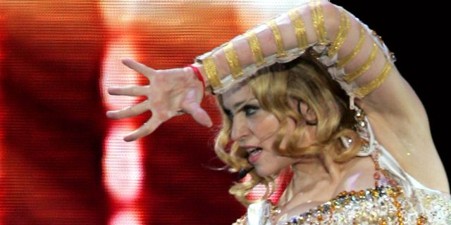 Madonna. ARMANDO FRANCA / TT / NTB Scanpix
