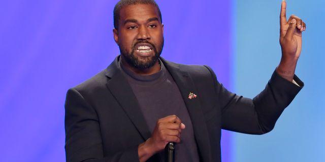 Kanye West/Arvikbild.  Michael Wyke / TT NYHETSBYRÅN