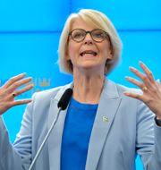 Moderaternas ekonomiskpolitiska talesperson Elisabeth Svantesson.  Jessica Gow/TT / TT NYHETSBYRÅN