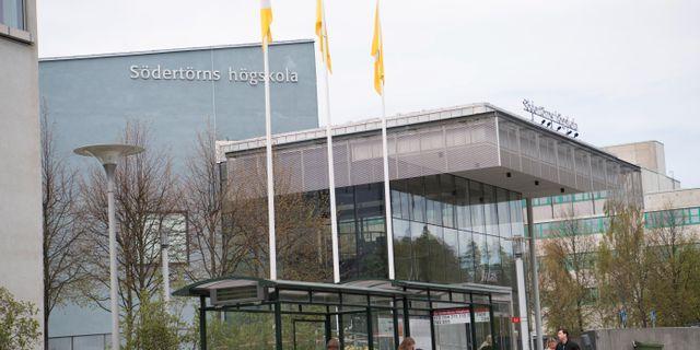 Södertörns högskola är en av de som har svarat på enkäten.  Fredrik Sandberg/TT / TT NYHETSBYRÅN