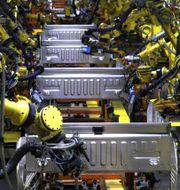 Arkivbild: Fords Dearborn-anläggning i Michigan, 2018.  BILL PUGLIANO / GETTY IMAGES NORTH AMERICA
